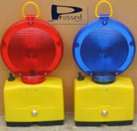Lampe lentille rouge lampes de chantier signalisation - Lampe de chantier castorama ...